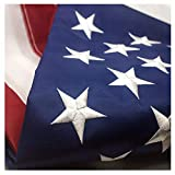 Best American Flag 3x5 Outdoors - VSVO American Flag 3x5 ft - Made in Review