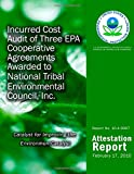 Incurred Cost Audit of Three EPA Cooperative Agreements Awarded to National Tribal Environmental Council, Inc, U. S. Environmental Agency, 1499736193