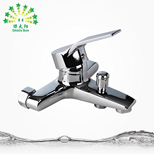 NewBorn Faucet Water Taps Hot And Cold Water Hot And Cold To The Warm Water Water Tap Brass Body Moisture And Corrosion-Resistant Plating Bath Basin