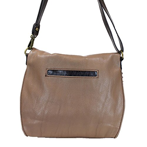 Chala Top Flap Chala Brown Bag Zipper Charming Light Chain with Crossbody Fox and Metal rgYrABa