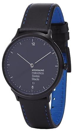 MONDAINE RELOJ DE HOMBRE CUARZO 38MM CORREA DE CUERO GENUINO MH1L2222LB: Mondaine: Amazon.es: Relojes