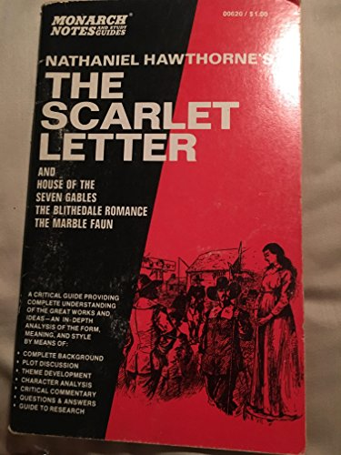 Download The Scarlet Letter and The House of the Seven Gables : Monarch Notes and Study Guides book pdf | audio id:4upychl