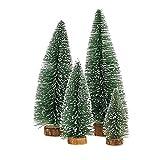 Desktop Miniature Pine Tree tabletop christmas tree small pine tree decor christmas tree toppers ...