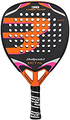 Bullpadel Black Metal 16 - Pala de pádel para Hombre: Amazon.es ...