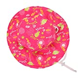 Womens and Girls Reversible Bucket Hats UPF 50+ Sun Protection Hats Floppy Sun Hat (Kids: 4-8 Years, Pink)
