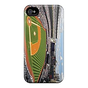 Protector Hard Cell-phone Cases For Iphone 6 With Support Your Personal Customized High-definition New York Yankees Image KevinCormack