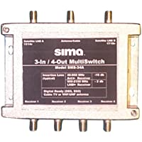 Sima SMS-34A 3-in/4-out Active MultiSwitch