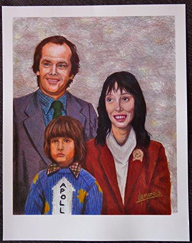 The Shining - Torrance Family Portrait - Movie Art Mini - Stores Torrance