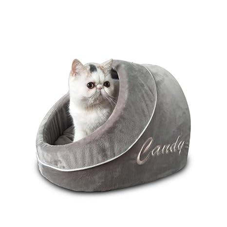 Huangyingui Dog Cat Warm Bed Room Nido Suave para Mascotas ...