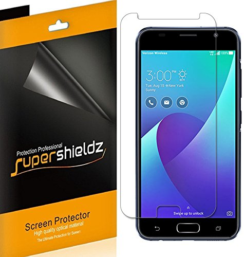 (6 Pack) Supershieldz for Asus Zenfone V (Verizon) Screen Protector, High Definition Clear Shield (PET)