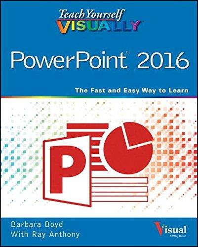 Teach Yourself Visually Powerpoint 2016  Teach Yourself Visually  Tech
