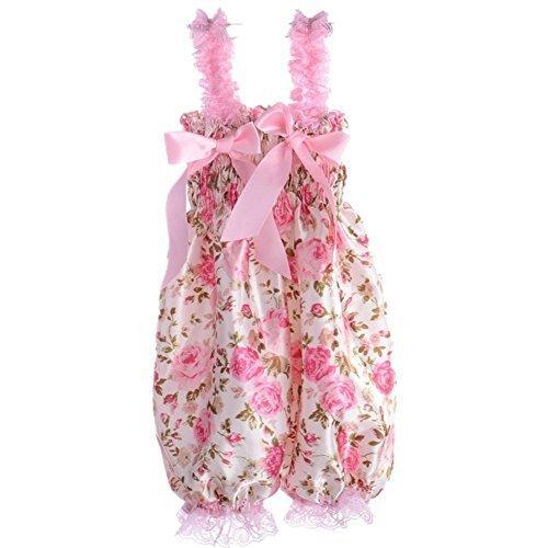 Fairy Season Baby Girl Lace Petti Ruffle Rompers Newborn Infant One-Piece Jumpsuit