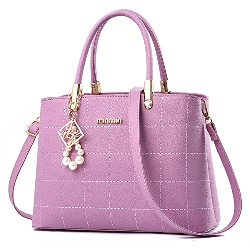 Para mujer Carteras de mano Bolsos bandolera Bolsos bolera Bolsos maletín Cuero Celeste Púrpura