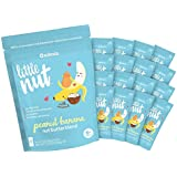 Little Nut, Peanut Banana Nut Butter, Baby and Toddler Snack, 16 Squeeze Packs