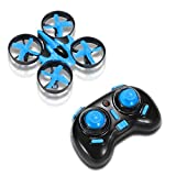 Image of RCtown JJRC H36 Mini Drone 2.4GHz 4CH Mini UFO Quadcopter Drone with 6-Axis Gyro Headless Mode Remote Control Nano Quadcopter (Blue)