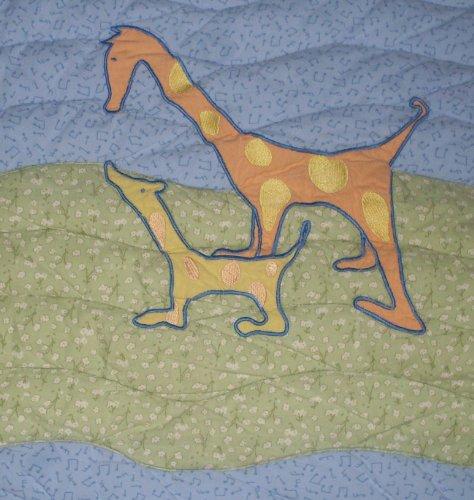 John Lennon Baby Blanket Quilt - Real Love / Musical Parade Keepsake by Lennon (Image #3)