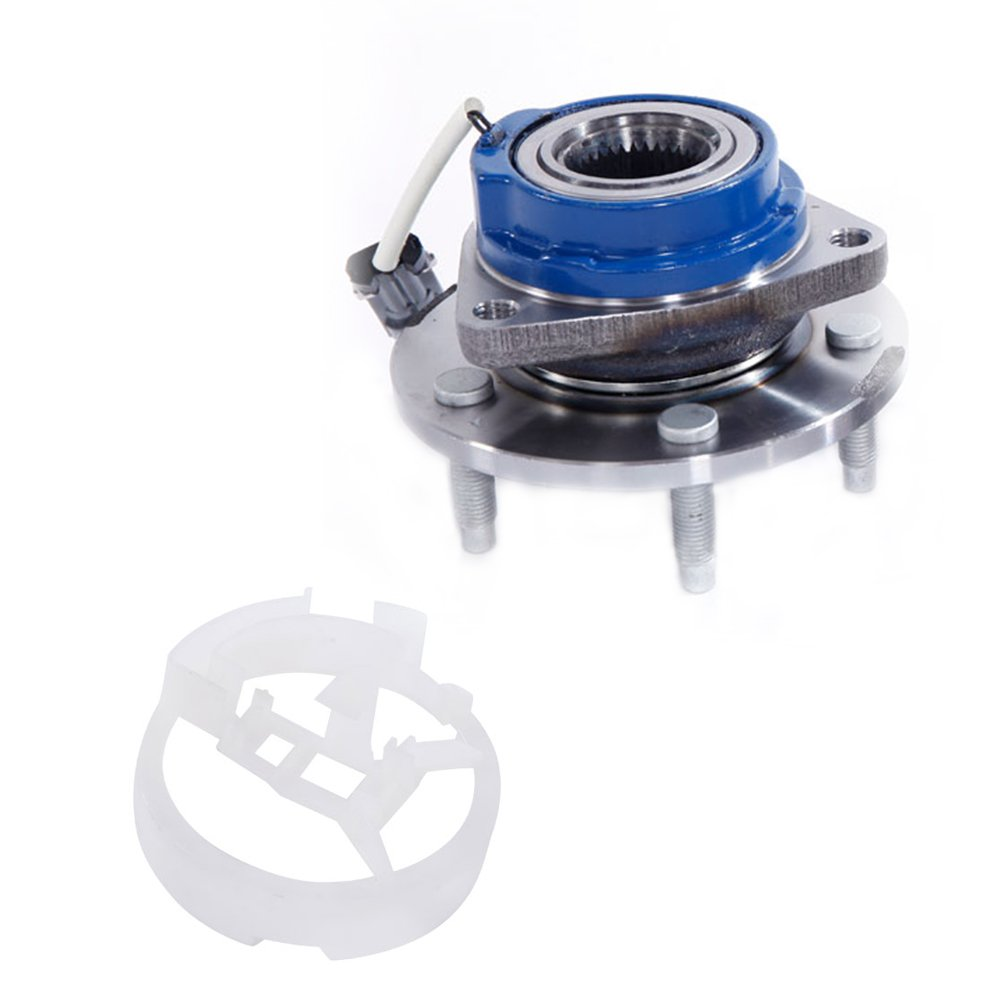 Motorhot New 513121 Front Wheel Hub & Bearing Assembly W/ABS 5Lug For Buick Century Cadillac Deville Chevy Impala Pontiac Grand Prix FWD, LH Or RH