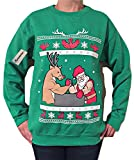 Arm Wrestling - Ugly Christmas Sweater (green, medium)