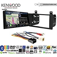 Volunteer Audio Kenwood Excelon DNX994S Double Din Radio Install Kit with GPS Navigation Apple CarPlay Android Auto Fits 2000-2005 Ford Thunderbird, 2000-2006 Lincoln LS