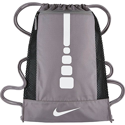 Nike Mens Hoops Elite Basketball Gym Sack Charcoal/Charcoal/