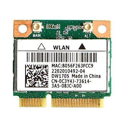 Kocome For Dell DW1705 Intel Qualcomm Atheros QCWB335 Wifi Mini Wireless Card CN-0C3Y4J (Qualcomm Atheros Model Qcwb335)