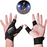 SYCASE 1 par de guantes de linterna LED