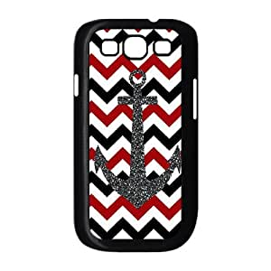 HIJULI (Anchor Chevron) Best Hard Cover Case for Samsung Galaxy S3 I9300(HJH001691)