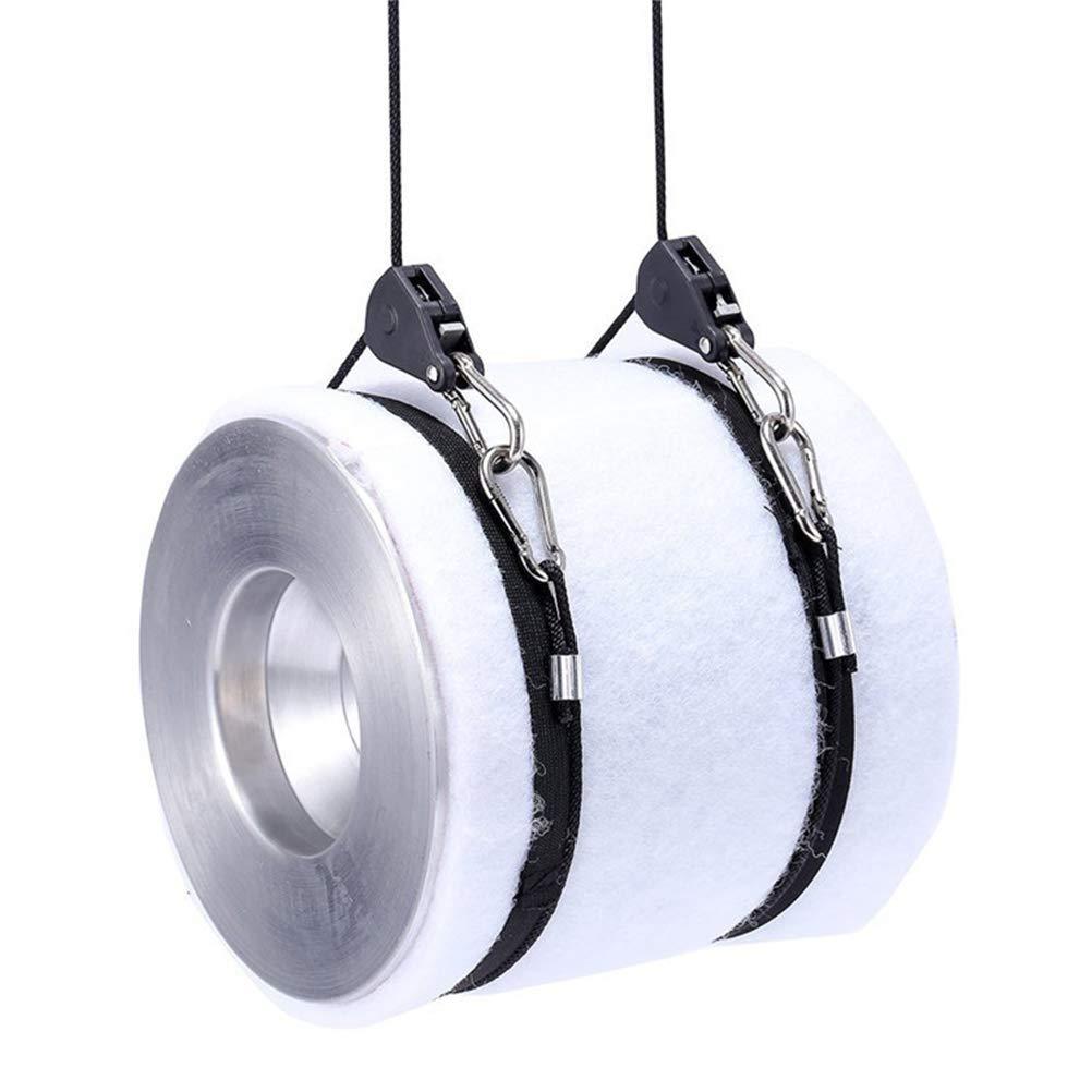 YOTINO 2 Pcs Trinquete Cuerda de Suspenci/ón Polea para colgar Iluminaci/ón y Ventilador hasta