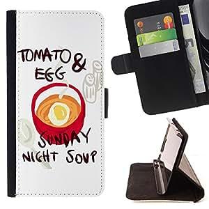 Jordan Colourful Shop - FOR Sony Xperia Z3 Compact - we thought of writing - Leather Case Absorci¨®n cubierta de la caja de alto impacto