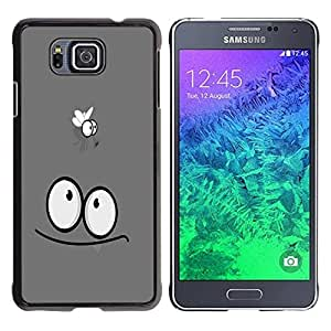 Be Good Phone Accessory // Dura Cáscara cubierta Protectora Caso Carcasa Funda de Protección para Samsung GALAXY ALPHA G850 // Funny Fly