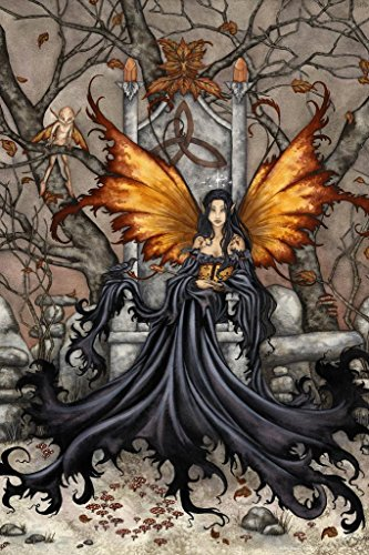 Laminated Queen MAB by Amy Brown Art Print Sign Poster 12x18 inch