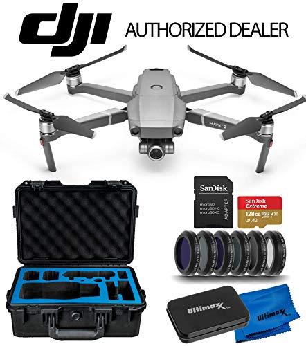 DJI 2019 Mavic 2 Zoom 2 Drone Quadcopter with 24-48mm Optical Zoom Camera Premium Essentials Travel Kit