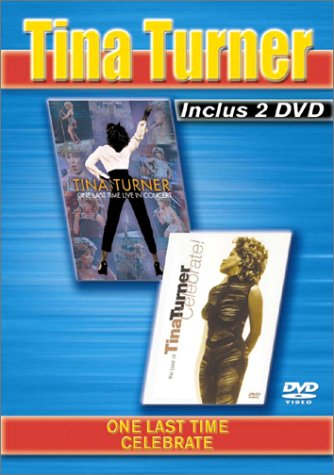Coffret Tina Turner 2 DVD - Vol. 2 : One Last Time Live In Concert / Celebrate (Tina Turner Last Concert)