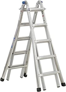Werner MT-22 telescoping-ladders, 22-Foot