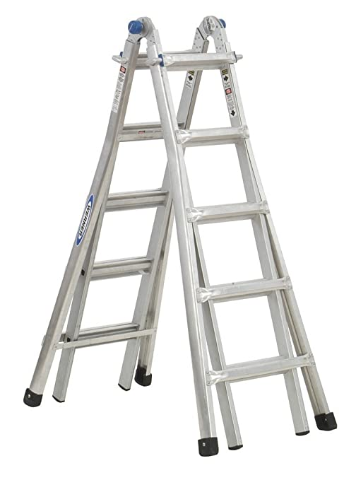 Werner MT-22 telescoping-ladders, 22-Foot