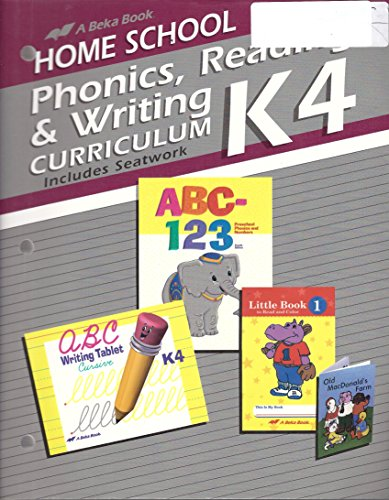 K4 Phonics, Reading, and Writing Curriculum (Includes, used for sale  Delivered anywhere in USA