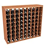 Cheap Creekside 72 Bottle Premium Table Wine Rack (Redwood) by Creekside – Exclusive 12 inch deep design with solid sides. Hand-sanded to perfection!, Redwood