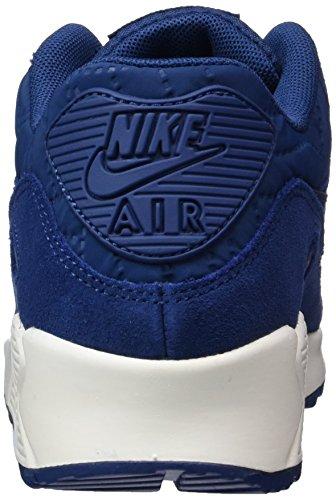 Nike Womens Air Max 90 Prem Running Scarpa Blu Costiero / Blu Costa