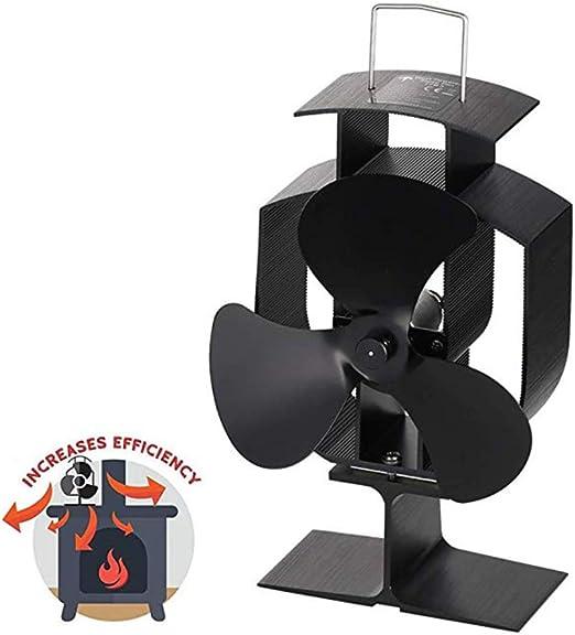 AMZ BCS Chimenea Ventilador Calor Circulación Calentamiento Aire ...