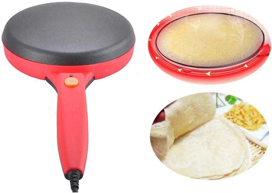 Máquina para hacer crepé de pizza en casa, máquina de tortitas ...