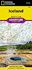 • Waterproof • Tear-Resistant • Travel Map       Let National Geographic's Iceland Adventure Map guide you as you discover the pristine nature and unique scenery on this Nordic island. The expertly researched map, with its accurate and...