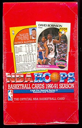 1990-91 1991 Hoops basketball Wax Pack Box Series 2 Two Set FACTORY SEALED from Hoops