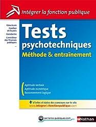 Tests psychotechniques Méthode & Entraînement