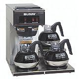 BUNN 13300.0003 VP17-3SS3L Pourover Commercial