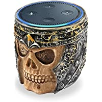 Thiroom Dot Holder, Skull Statue Crafted Guard Station For Amazon Dot 2nd And 1st generation Speaker,Jam Classic Speaker
