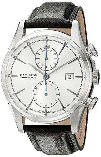 Hamilton Men's H32416781 Spirt Liberty Analog Display Automatic Self Wind Black Watch, Model: H32416781, Hand/Wrist Watch Store