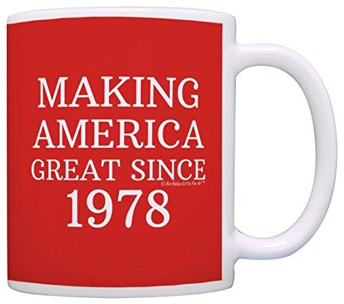 Birthday Making America Republican Coffee