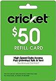 Cricket Refill Card $50 Cricket Wireless Refill Card $50