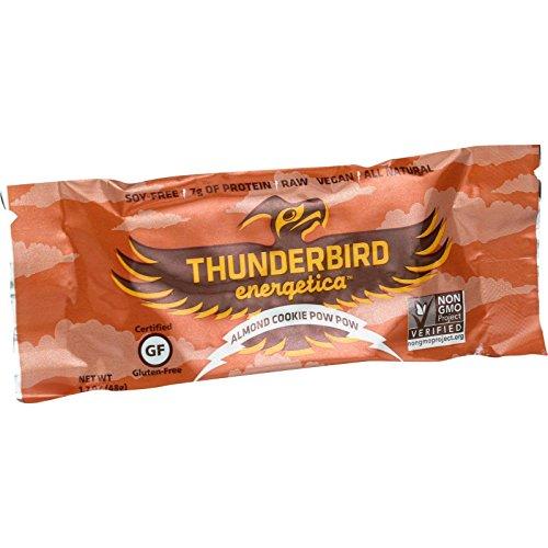 Thunderbird Energetica Bar - Almond Cookie Pow Pow - 1.7 oz Bars - Case of 15