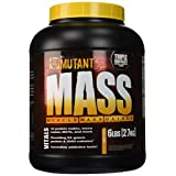 Mutant MASS Gainer, Ultimate Size and Strength Gainer For Putting On Those Wanted Pounds, Triple Chocolate, 6 Pound